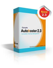 iScripts AutoHoster 2.3 software package