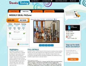 iScripts DailyDeals- Todays Deals page