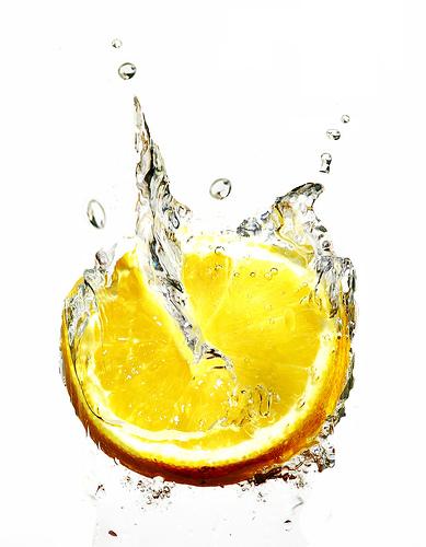 a fresh lime