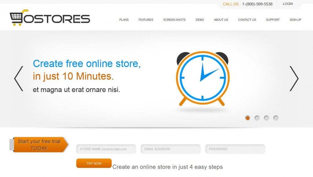 gostores gostores website screenshot