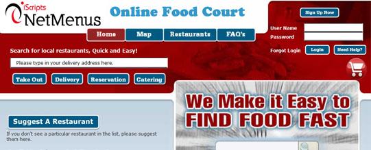 online food court netmenus