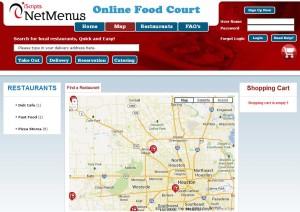 online food court script