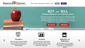 Classroom 2 Classroom website Screen Shot