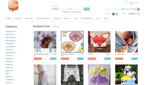 The Baby Burp website screenshot