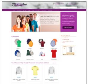 printind design website