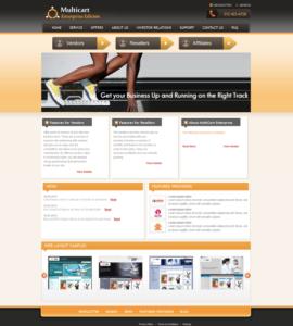Multicart Enterprise Screenshot
