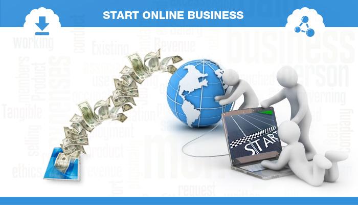 offline or online business