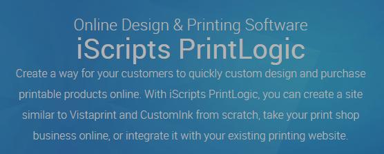 Online Design & Printing Software - iScripts