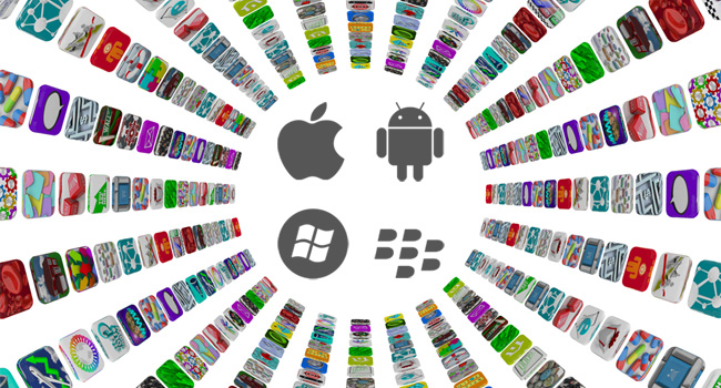 custom Android and iOS mobile apps