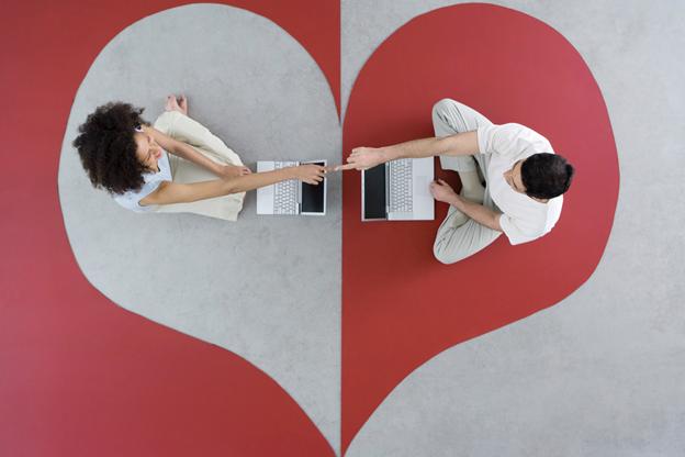 Finding partner through dating app