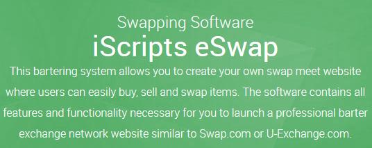 Online Barter Exchange Script - Swapping Software
