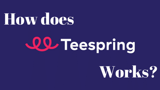 how does teespring works