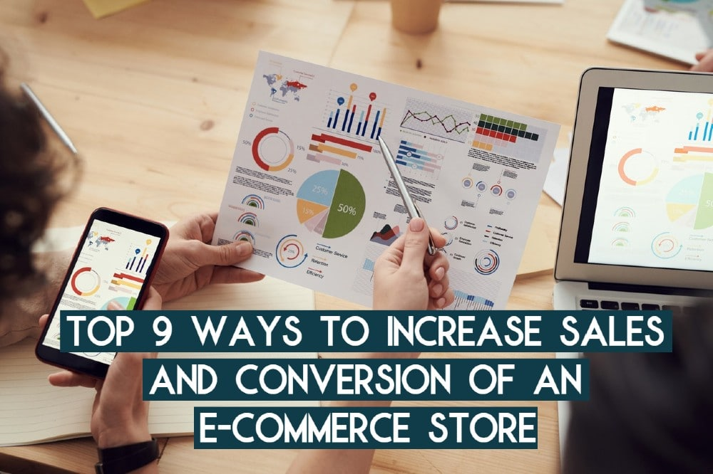 sales and conversion of ecommerce site
