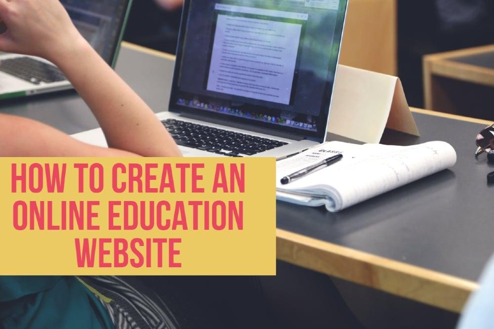 Online Education Website