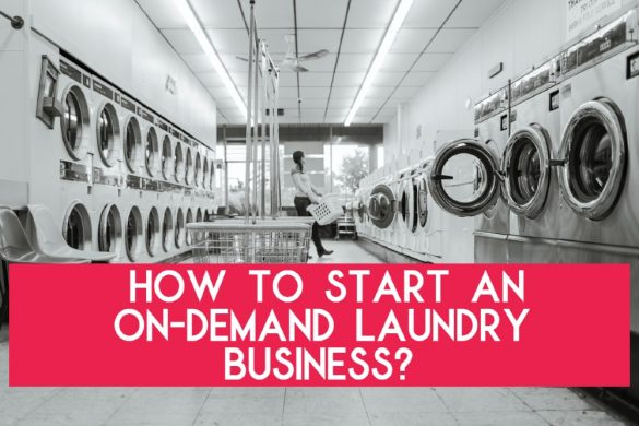 on-demand laundry business
