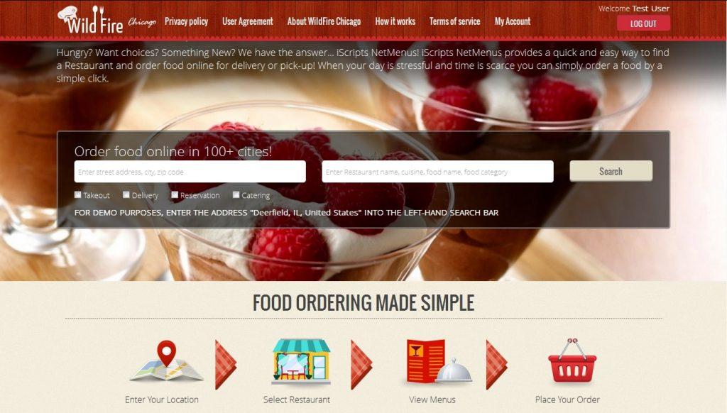 Online Restaurant Delivery Software
