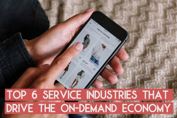 top service industries