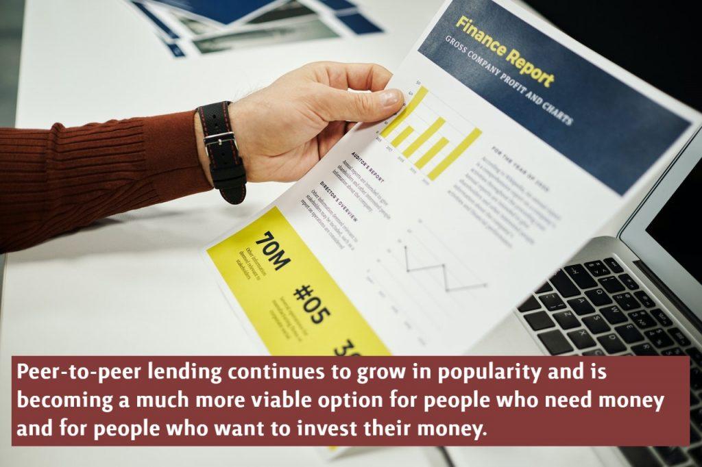 Peer to Peer Lending Platforms